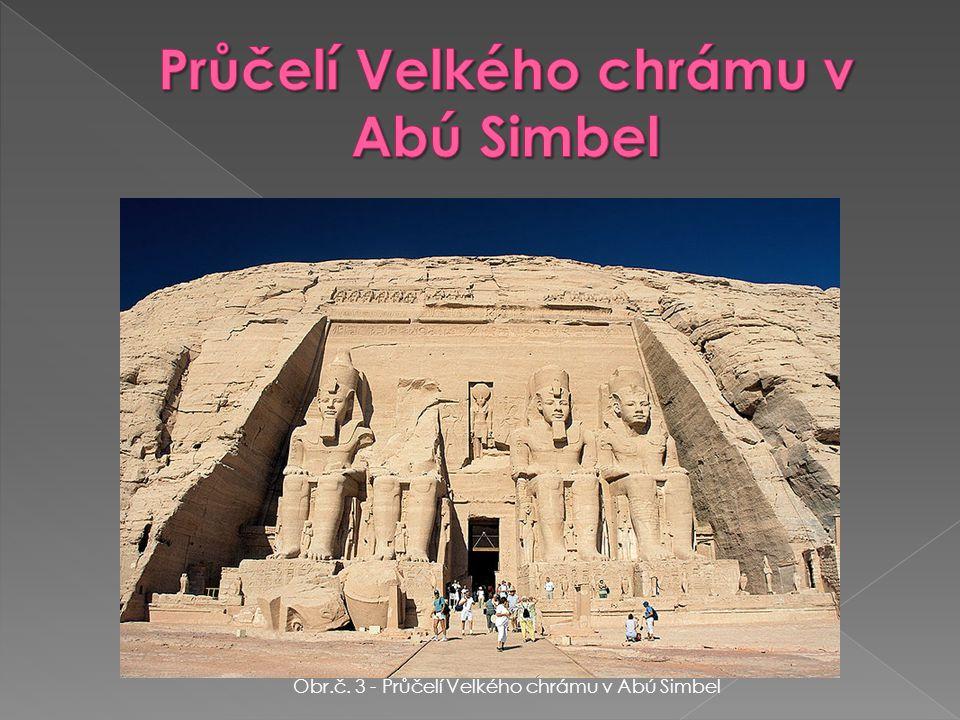 Obr. Č. 4 - Džoserova pyramida