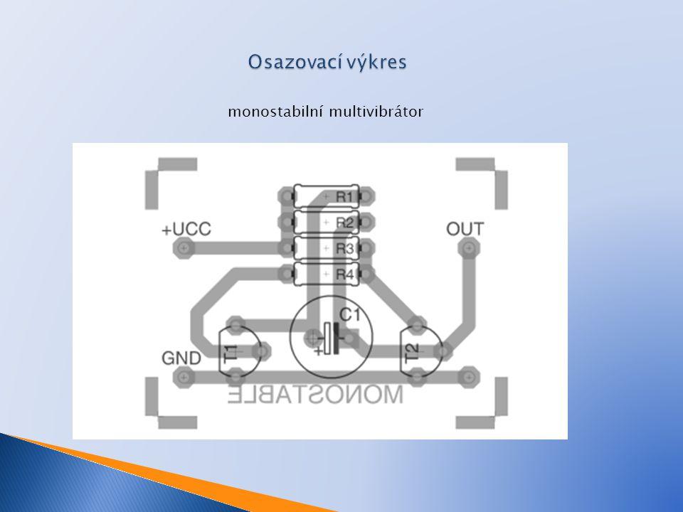monostabilní multivibrátor