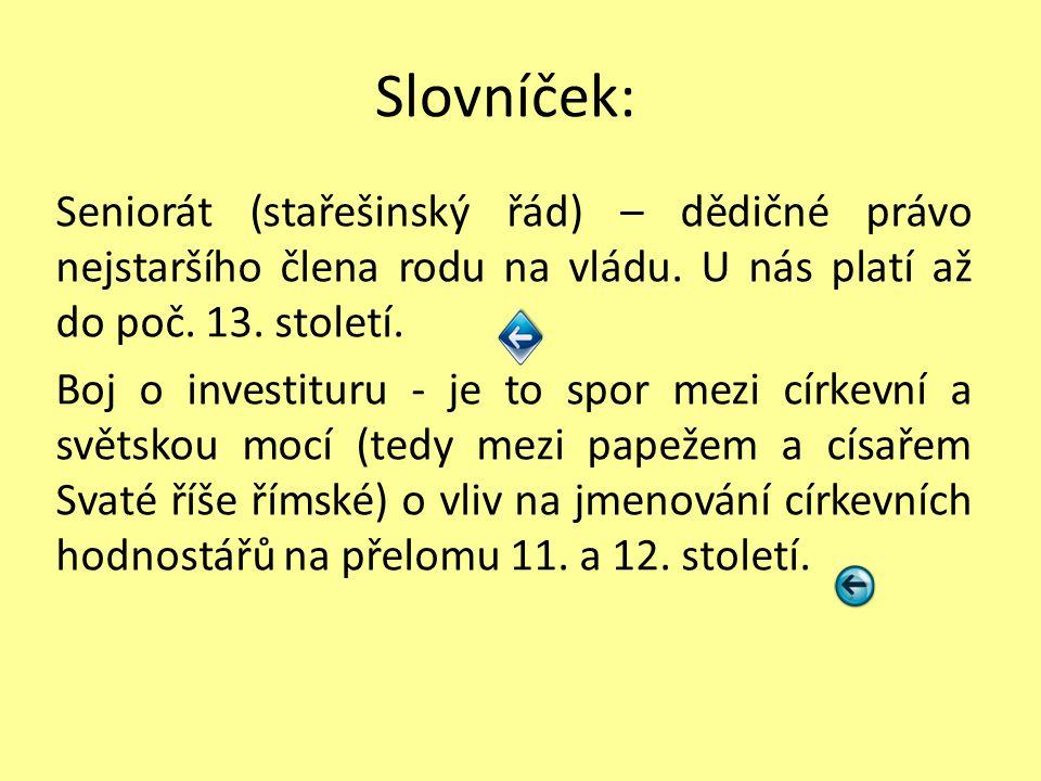 Zápis První přemyslovští králové - po smrti Boleslava II.
