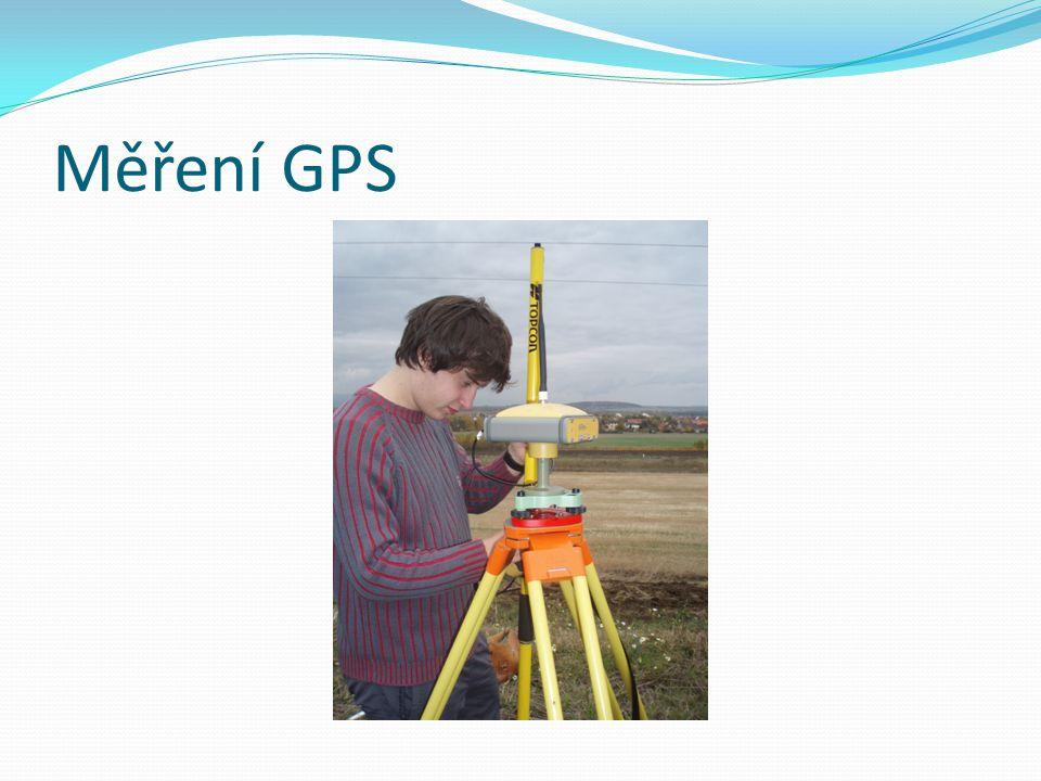 Měření GPS