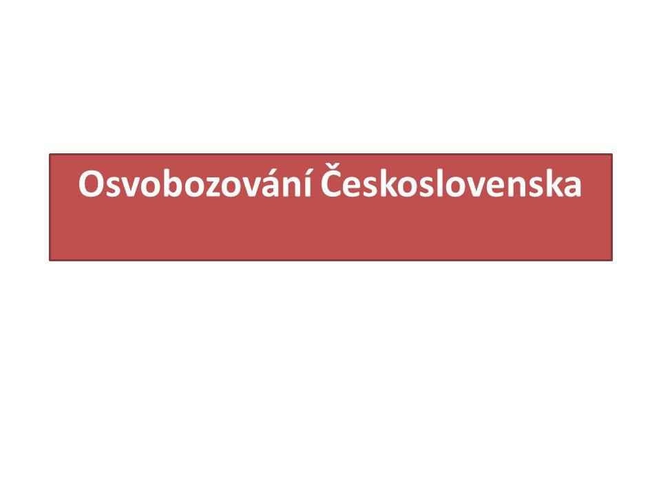 Osvobozování Československa