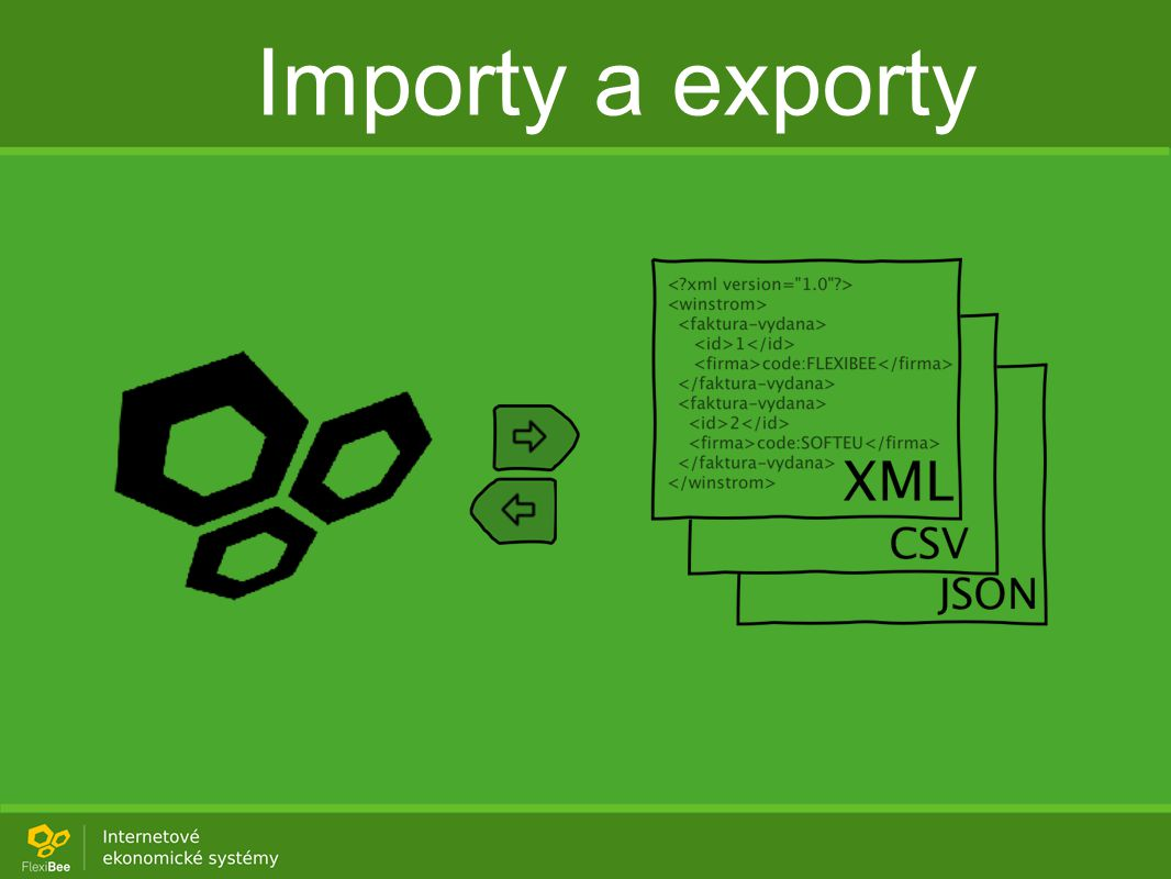 Importy a exporty