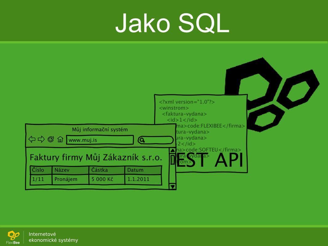 Jako SQL