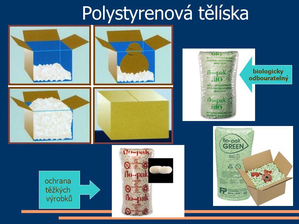 Polystyrenová tělíska ochrana těžkých výrobků biologicky odbouratelný