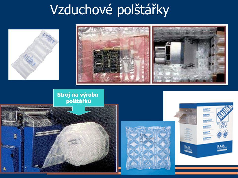 Vzduchové polštářky Stroj na výrobu polštářků