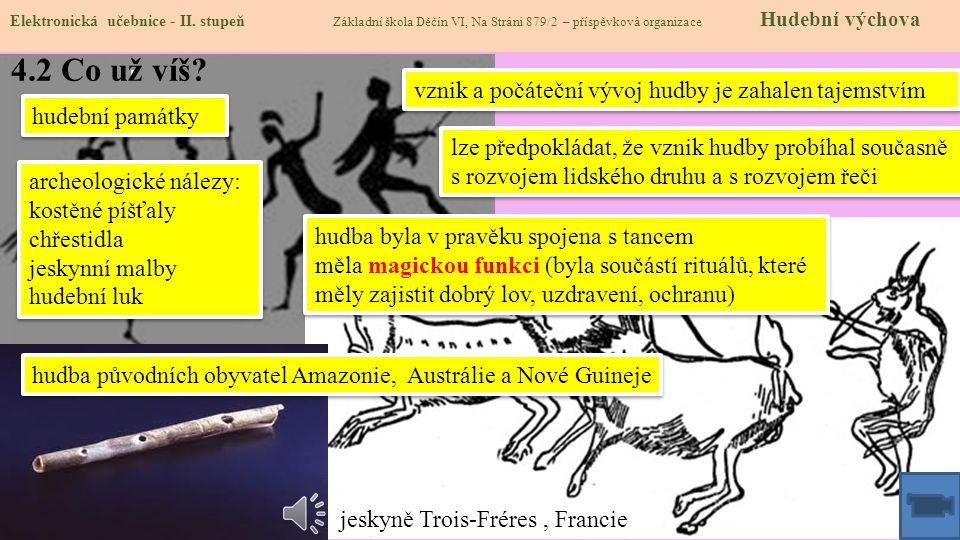 Elektronická učebnice - II. stupeň Základní škola Děčín VI, Na Stráni 879/2 – příspěvková organizace Hudební výchova Autor: Mgr. Jana Štrbová 4.1 Prav
