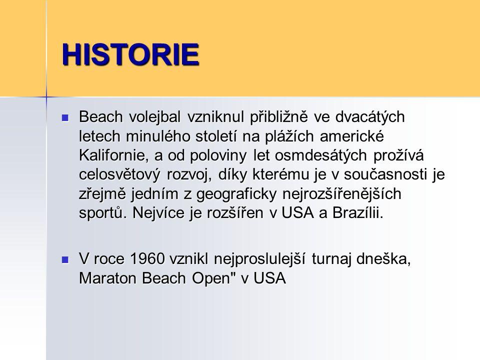 HISTORIE První evropskou zemí, která nový sport objevila, se stala Francie.