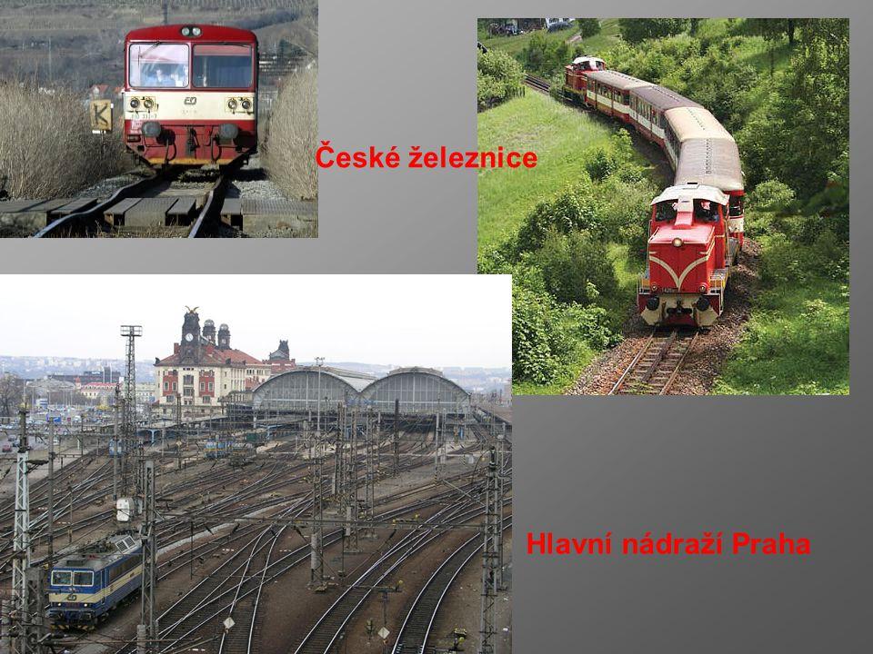 Doprava a spoje hustá dopravní síť – slouží našemu hospodářství - tranzitní dopravě největší úlohu má – železniční a silniční doprava silniční dopr. –