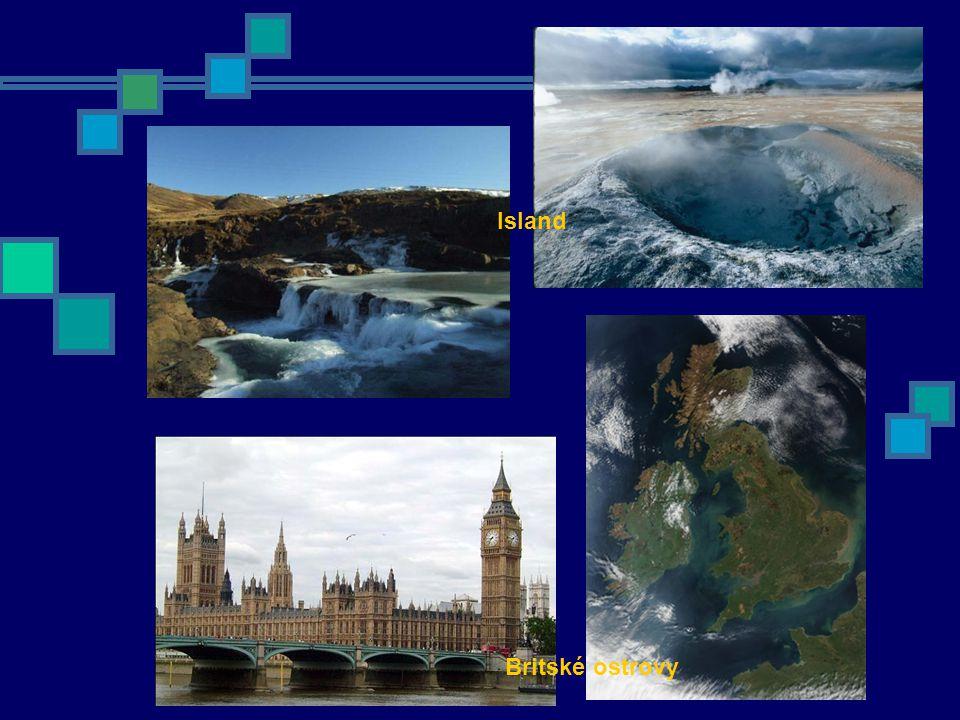 Island Britské ostrovy