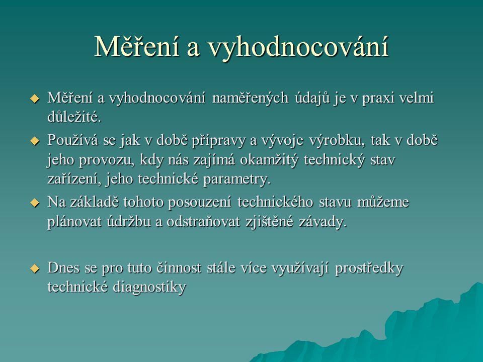 Literatura  Brončeková T.: Technická diagnostika elektrotechnických zariadení, ÚSI VŠDS Žilina, 1996