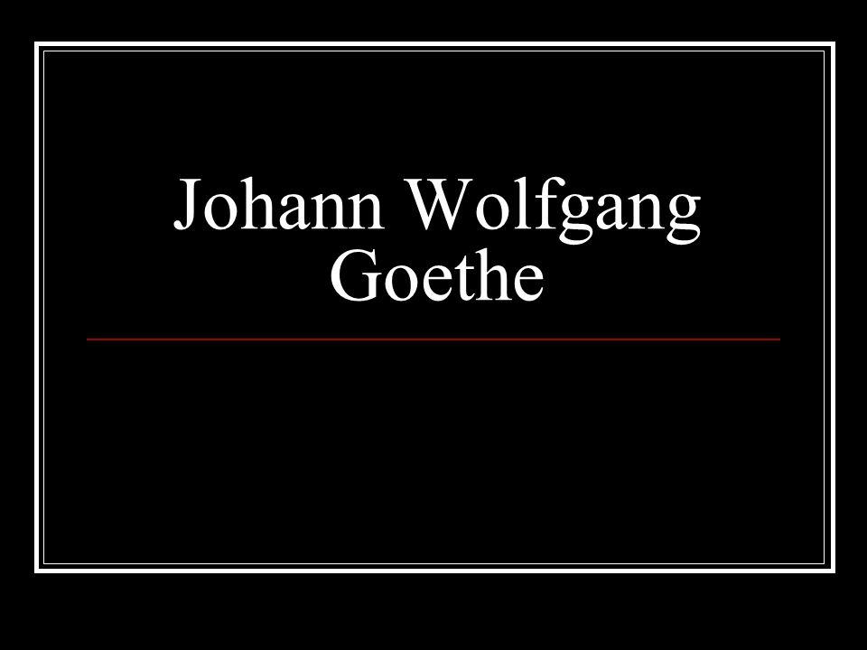 Goethe inspirací Thomas Mann: Lotta ve Výmaru Milan Kundera: Nesmrtelnost film Goethe.