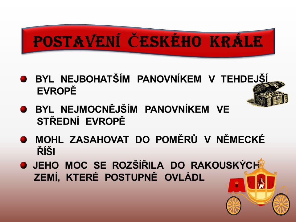 P Ř EMYSL OTAKAR II.SYN VÁCLAVA I.
