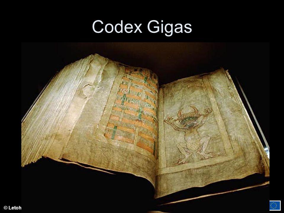 © Letohradské soukromé gymnázium o.p.s. Codex Gigas