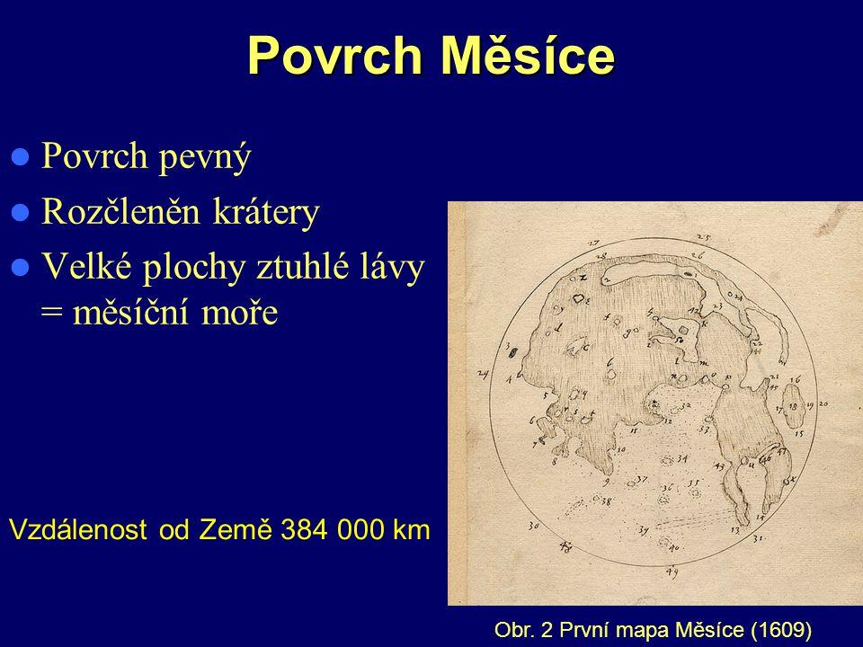 Pohyby Měsíce Vyjmenuj tři základní pohyby Měsíce 1.