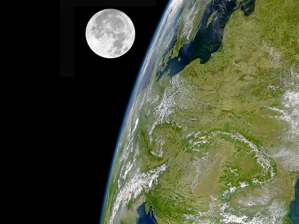 MĚSÍC – přirozená družice Země ( přitažlivá a odstředivá síla jsou v rovnováze).