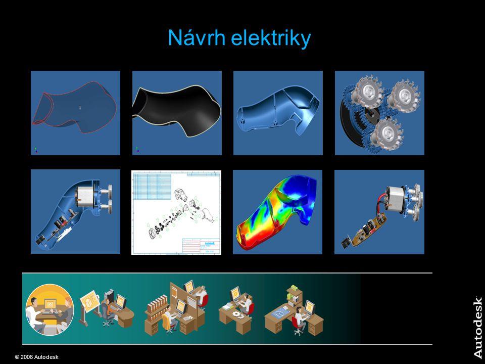 © 2006 Autodesk Návrh elektriky