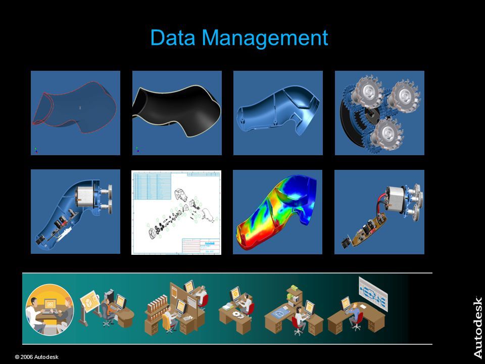 © 2006 Autodesk Data Management