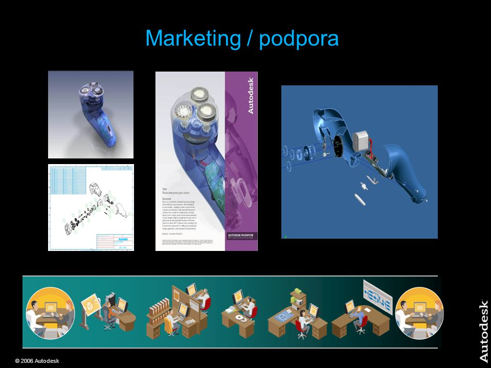 © 2006 Autodesk Marketing / podpora