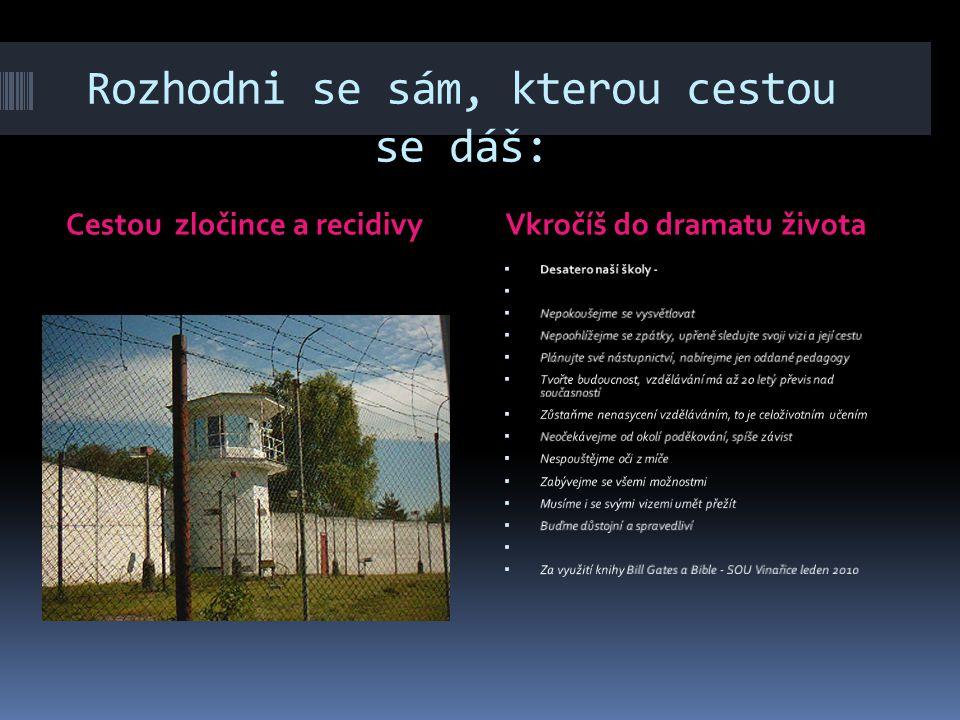 Návod na použití UNIV 2, U2K  Tato prezentace se snaží nevšedně zaujmout, zamyslet se nad celoživotním učením v podmínkách střední školy, Středního o