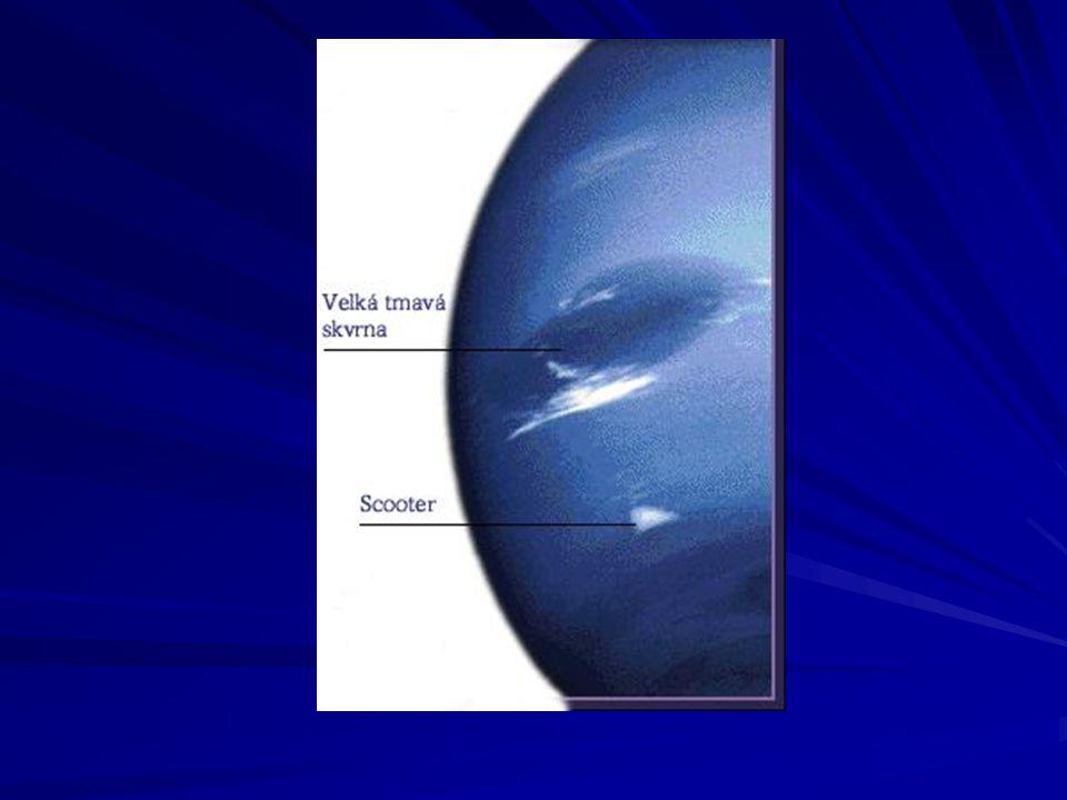 Prstence Neptunu Neptunovy prstence se rozkládají přibližně ve vzdálenosti od 40000 do 63000 km od planety.