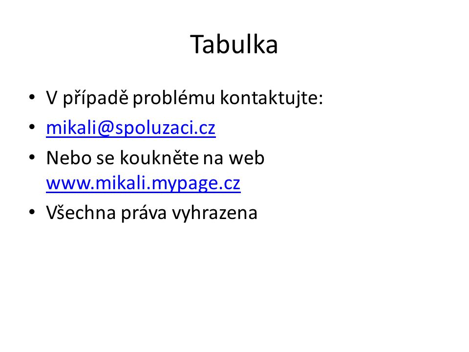Programování Chcete se uprostřed prezentace dostat na webovku nebo otevřít list aplikace word,excel.