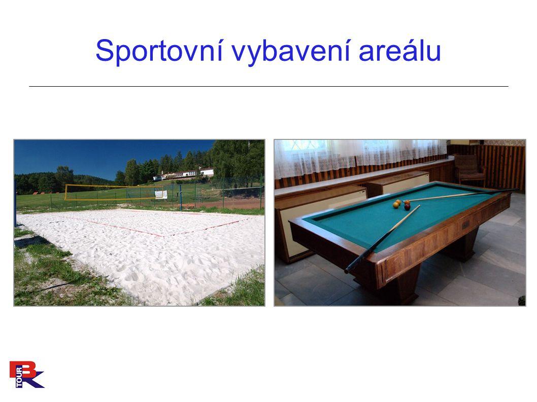 Sportovní vybavení areálu