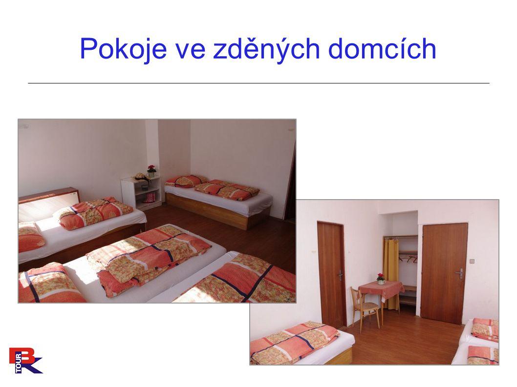 Pokoje ve zděných domcích