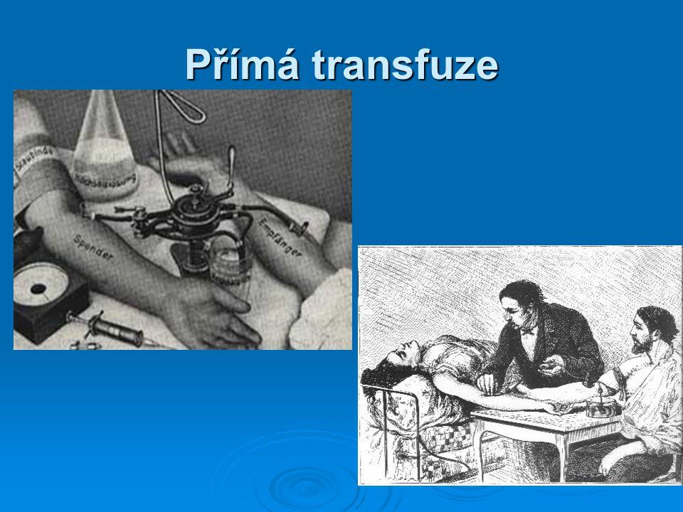 Přímá transfuze