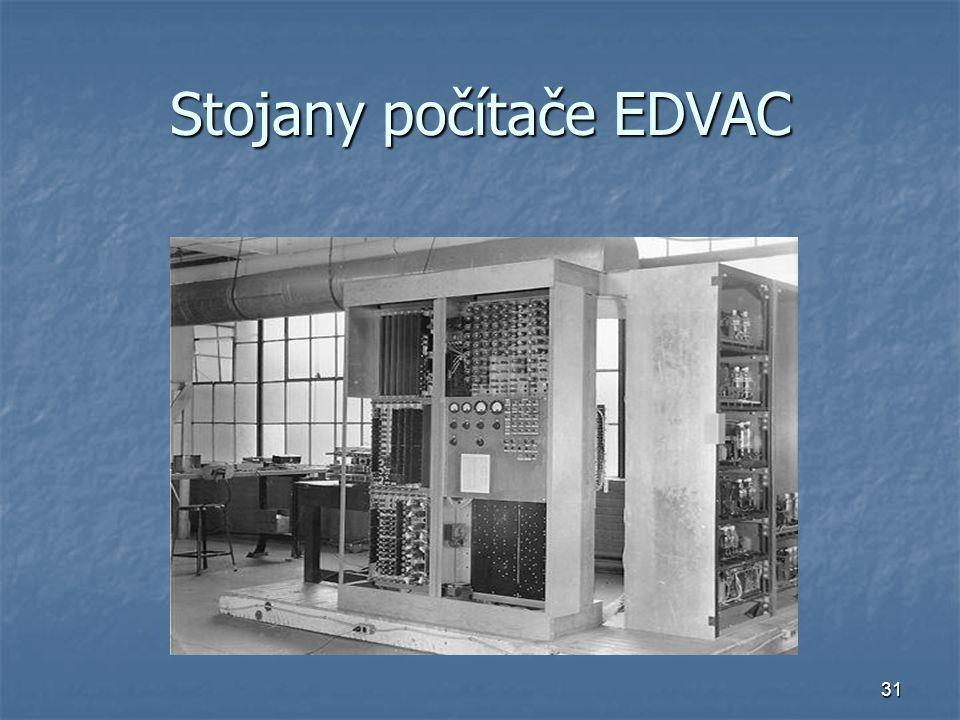 31 Stojany počítače EDVAC
