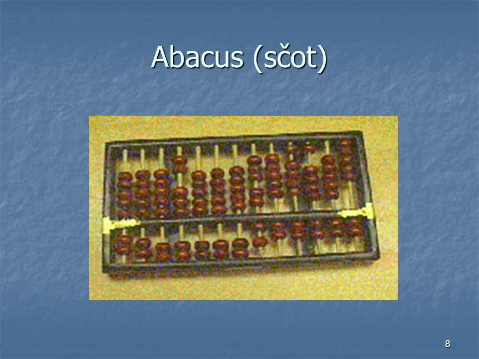 8 Abacus (sčot)