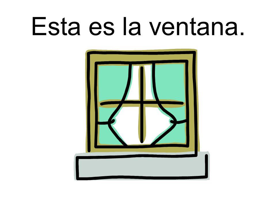 Esta es la ventana.