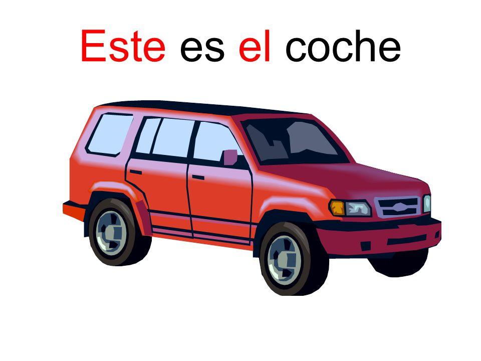 Este es el coche