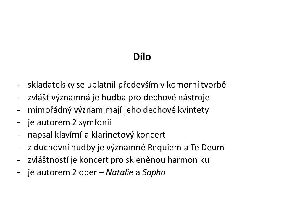 -dodnes je ceněno jeho dílo teoretické -Nauka o melodii (1814) -Učebnice hudební skladby (1818) -Nauka o vysoké skladbě hudební – 2 díly -Umění dramatického skladatele (1833) -zvláštní pozornost si zasluhuje O novém fugovém systému (1805) -dílo není dodnes systematicky zpracováno, množství Rejchových děl je uchováno v Bibliothéque Nationale du Conservatoire a de l´opera.