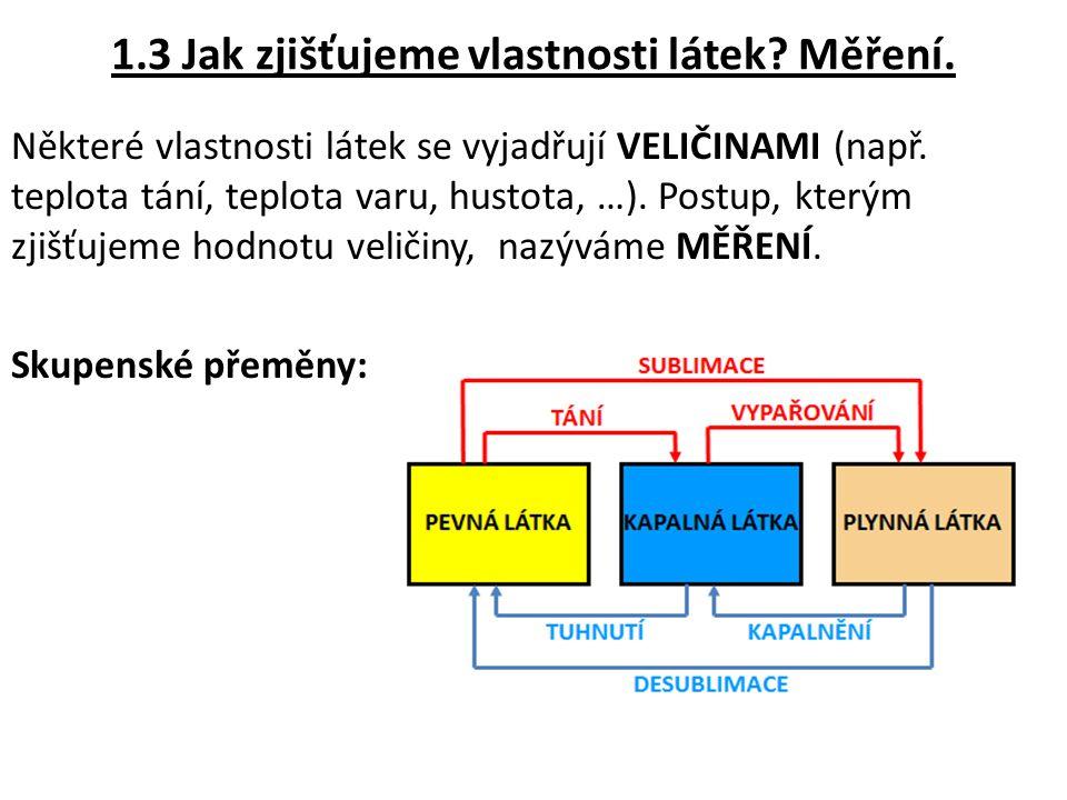 VAR – změna kapalné látky na plynnou (vypařování probíhá v celém objemu).