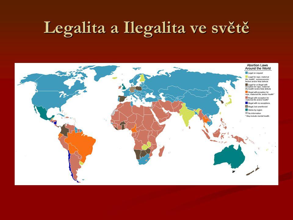 Legalita a Ilegalita ve světě