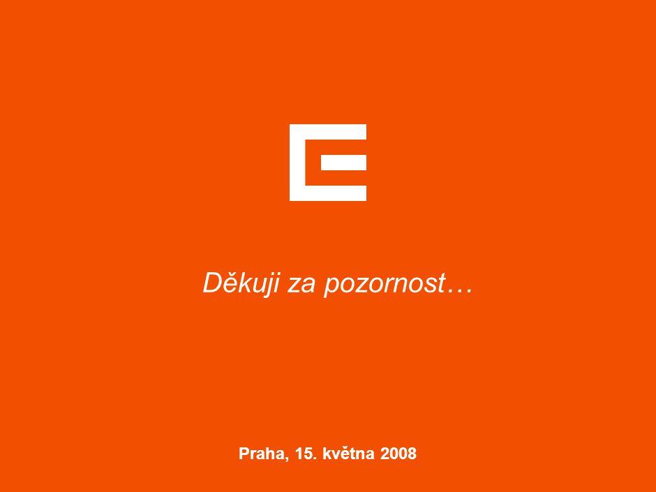 Děkuji za pozornost… Praha, 15. května 2008