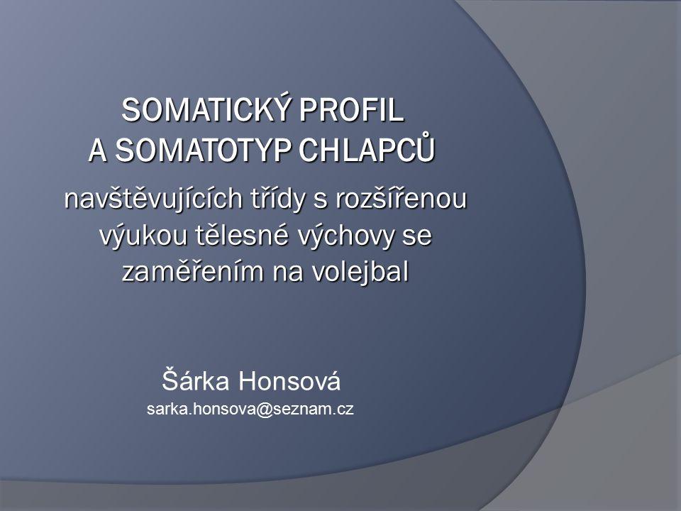 Šárka Honsová sarka.honsova@seznam.cz navštěvujících třídy s rozšířenou výukou tělesné výchovy se zaměřením na volejbal