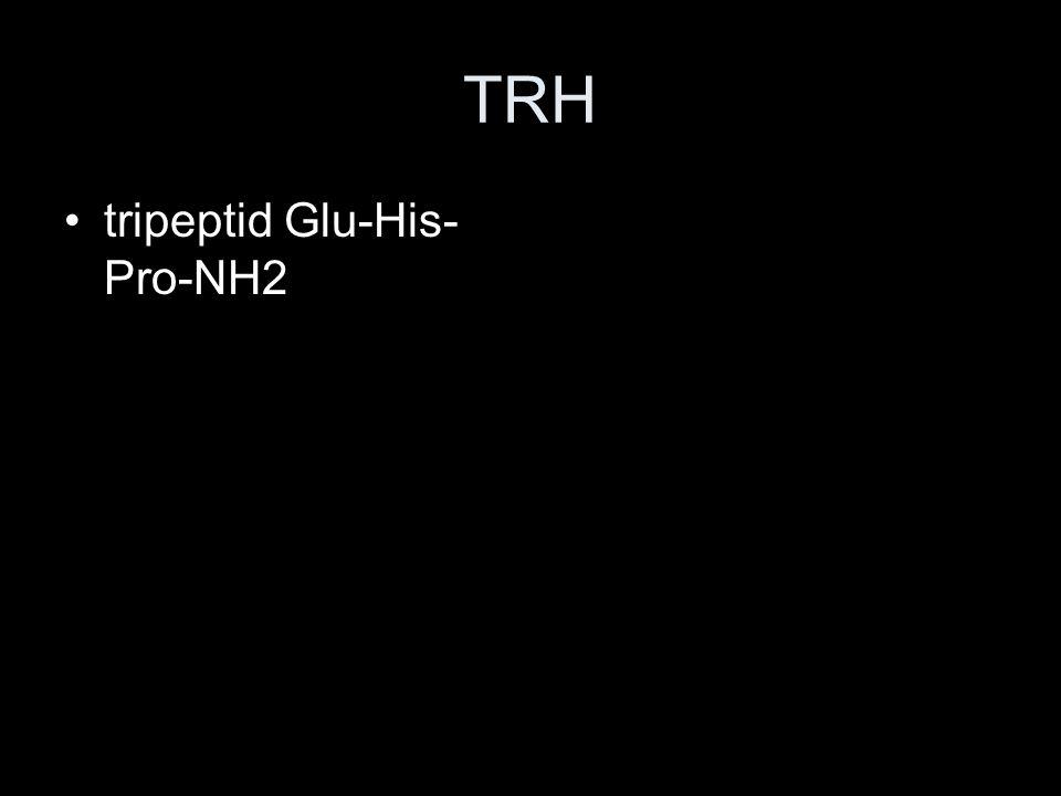TRH tripeptid Glu-His- Pro-NH2