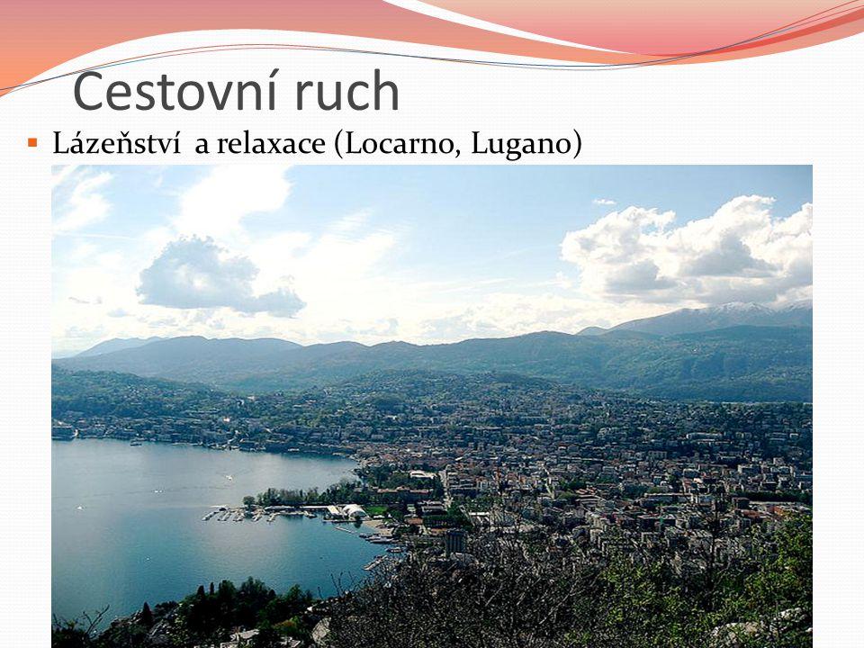 Cestovní ruch  Lázeňství a relaxace (Locarno, Lugano)
