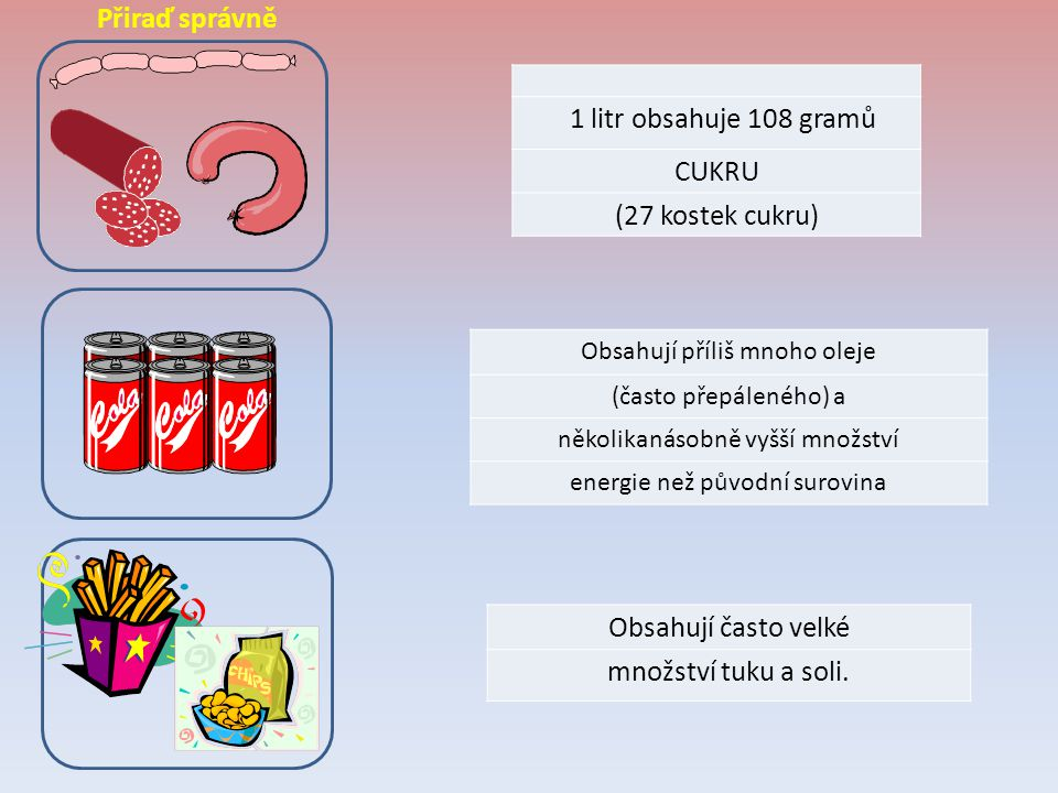 Tyto potraviny jsou zdrojem živočišných bílkovin.