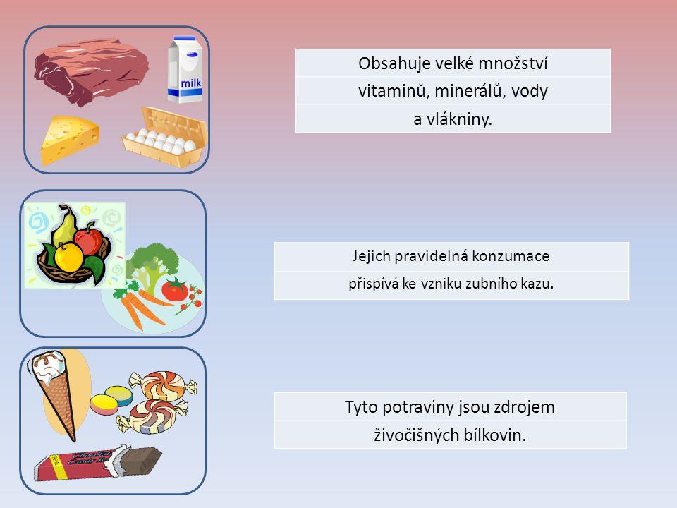 Obsahuje vysoké množství SOLI Z rostlinné potravy obsahují nejvíce bílkovin.