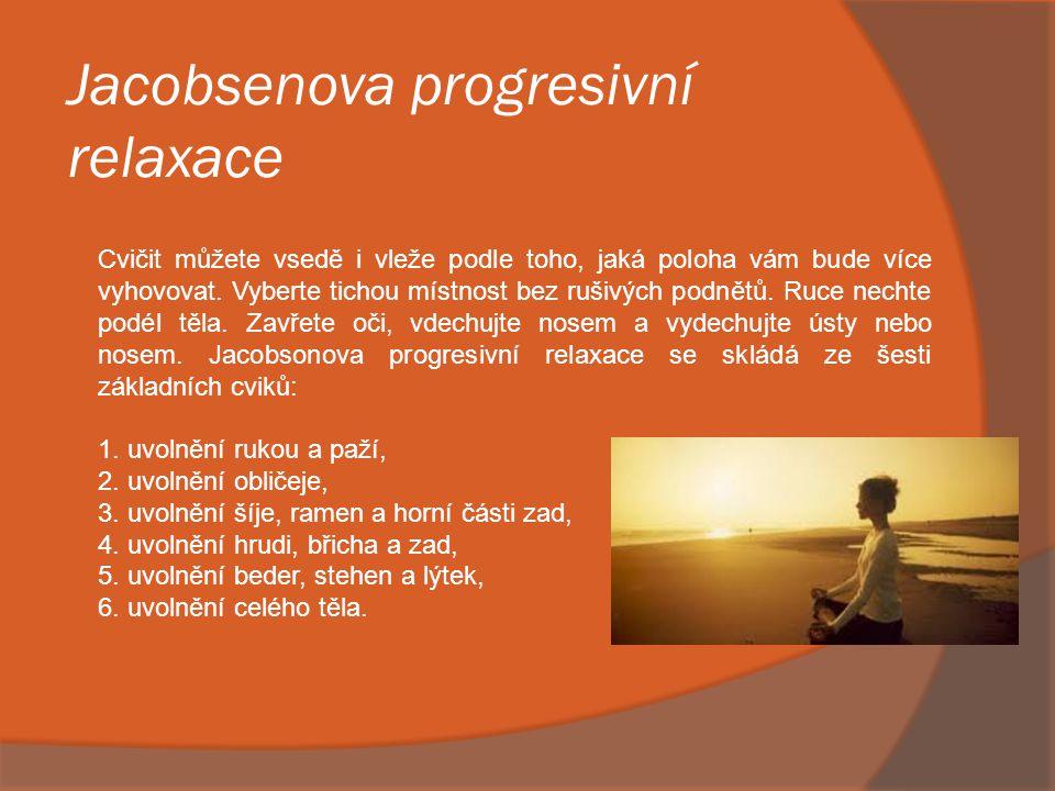 Jóga  Jóga je komplexní cvičení skládající se ze 3 částí ásán (tělesných pozic), pránajámy (dechových cvičení) meditace.