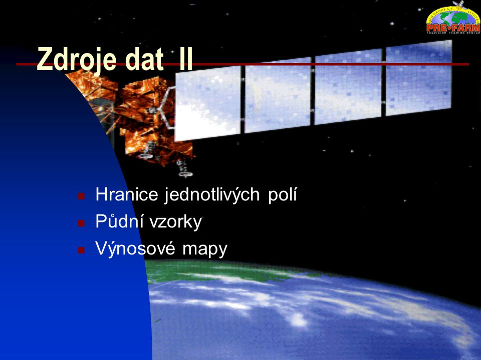 1:50 000 Místa půdních odběru (Lokalita Medlov, 1998)