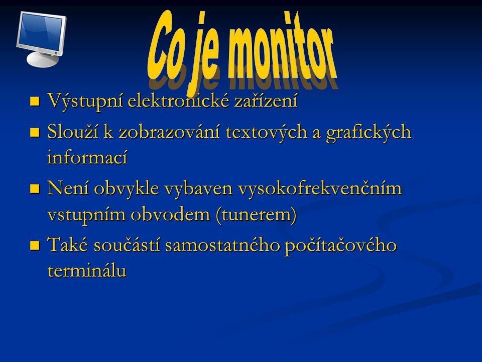 Velikost monitoru se obvykle udává jako vzdálenost mezi protilehlými rohy obrazovky Velikost monitoru se obvykle udává jako vzdálenost mezi protilehlými rohy obrazovky Nepřesnost při značení skutečné velikosti monitorů Nepřesnost při značení skutečné velikosti monitorů