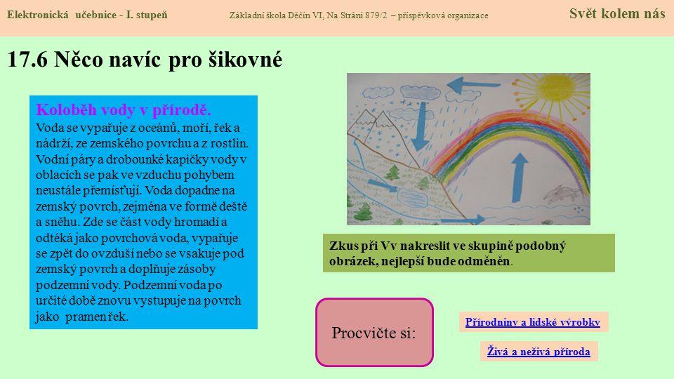 17.6 Něco navíc pro šikovné Elektronická učebnice - I.