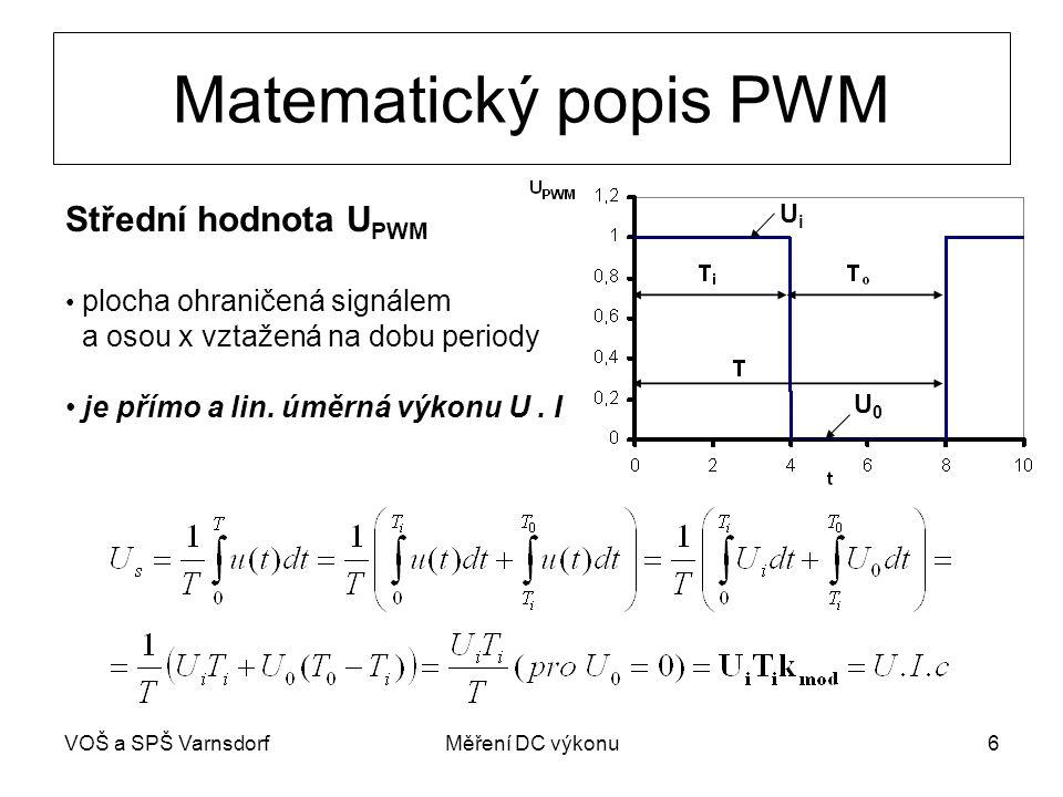 VOŠ a SPŠ VarnsdorfMěření DC výkonu7 Wattmetr s logaritm.