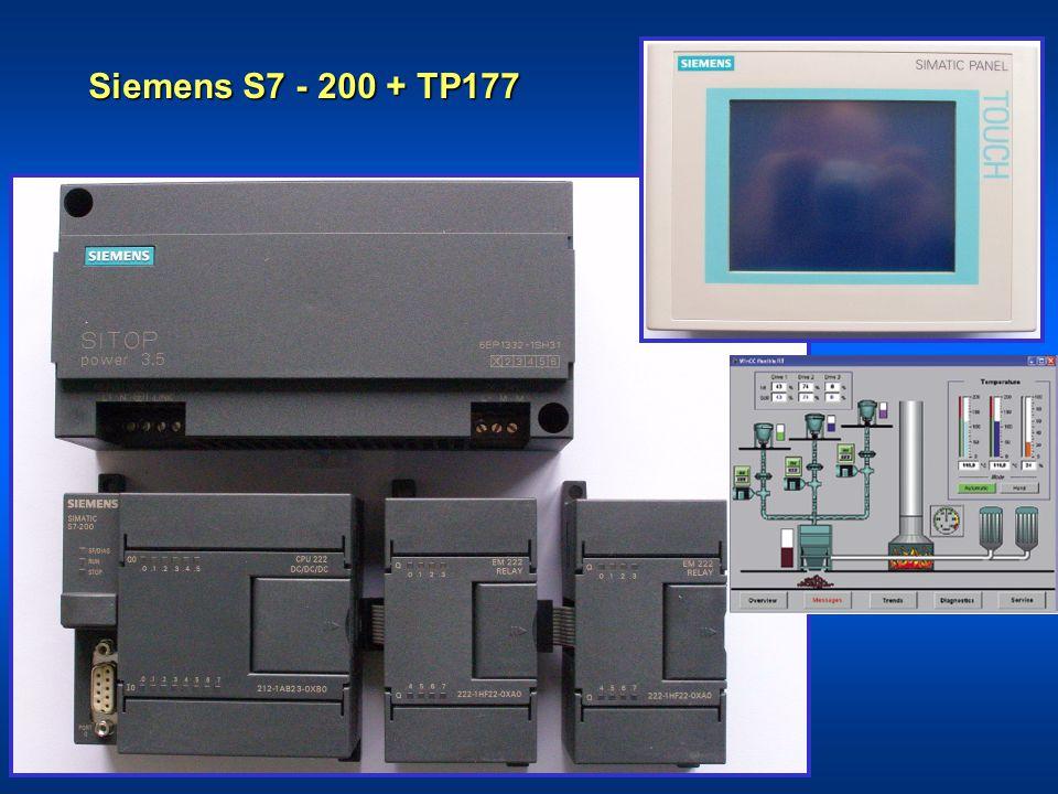 Siemens S7 - 200 + TP177