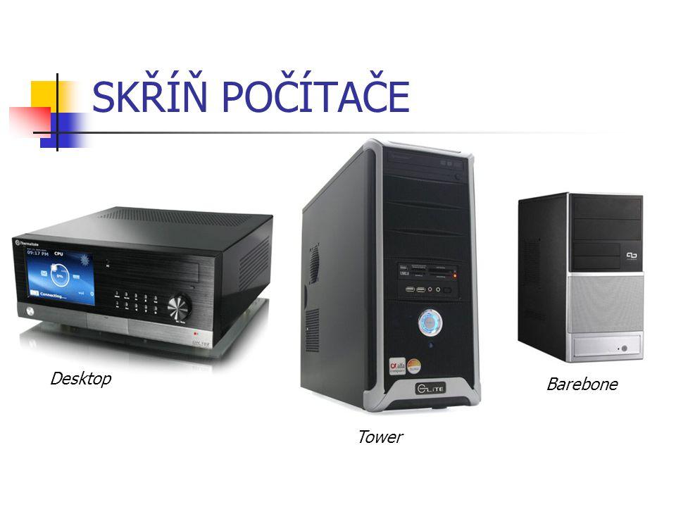 SKŘÍŇ POČÍTAČE Desktop Tower Barebone