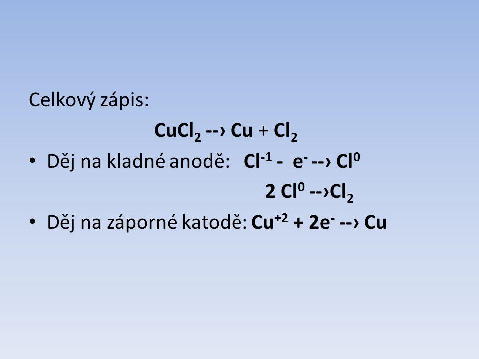 Typy galvanických článků Daniellův článek Leclanchéův článek (suchý článek) Voltův článek Bunsenův článek Lithiový článek ….