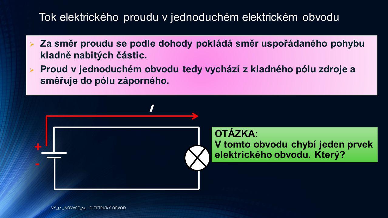 ELEKTRICKÝ ZDROJ ZDROJE ELEKTRICKÉHO PROUDU = zdroj napětí el.